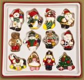 Los años pasados de ornamentos Imagen de archivo libre de regalías