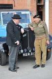 los años 40 revivieron evento en Brooklands Imagen de archivo