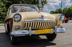 Los años 60 rusos soviéticos raros de Volga del coche Foto de archivo libre de regalías