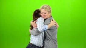 Los abrazos del natural, son soporte y el hablar Pantalla verde metrajes