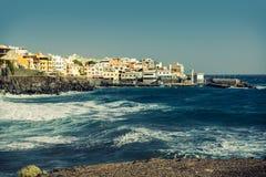 Los Abrigos, fishing village in Granadilla de Abona, Tenerife Royalty Free Stock Photos