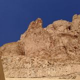 Los acantilados acercan al valle de los reyes Fotos de archivo
