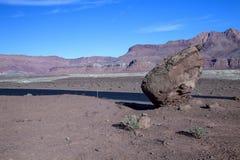 Los acantilados bermellones en el transbordador de Lees en Arizona Fotos de archivo