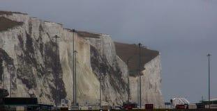 Los acantilados blancos de Dover imagen de archivo