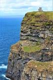 Los acantilados de Moher Irlanda fotografía de archivo