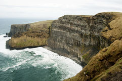 Los acantilados de Moher, Irlanda Foto de archivo libre de regalías