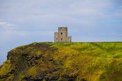 Los acantilados de Moher, la región de Burren en el condado Clare Fotos de archivo libres de regalías