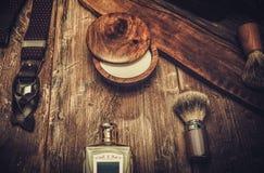 Los accesorios del caballero Fotos de archivo