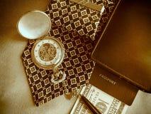 Los accesorios del hombre de negocios Foto de archivo