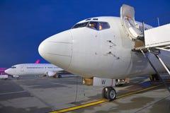 Los aeroplanos imagenes de archivo