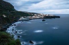 Los Aguas wioska w Tenerife, wyspy kanaryjska obraz royalty free