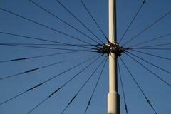 Los alambres Foto de archivo