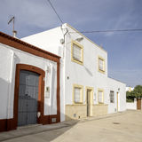 Los albaricoques, andalusia, spain, europe, the country`s westerns Italian films Royalty Free Stock Photos