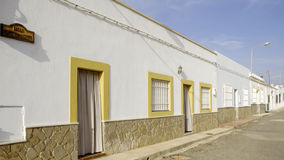 Los albaricoques, andalusia, spain, europe, the country`s westerns Italian films Royalty Free Stock Photography