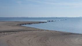 Los Alcazares beach Murcia, Spain stock photo