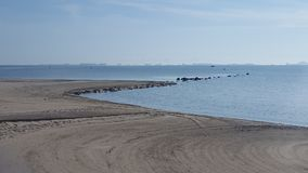 Los Alcazares strand Murcia, Spanje Stock Foto