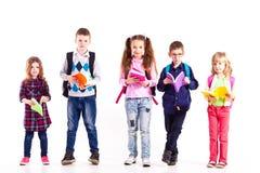 Los alumnos están listos para la escuela Fotografía de archivo