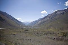 Los Andes Foto de archivo