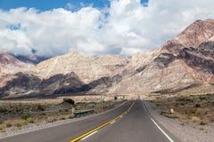 Los Andes la Argentina Foto de archivo