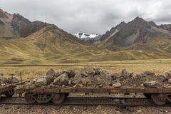 Los Andes Perú Imagen de archivo libre de regalías