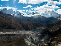 Los Andes peruanos #10 Imagen de archivo libre de regalías