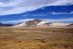 Los Andes y desierto de atacama, Uyuni, Bolivia Foto de archivo libre de regalías