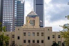 Los Angeles-öffentliche Bibliothek - Los Angeles, Kalifornien, USA Stockbild