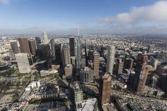 Los Angeles śródmieście Góruje antenę Zdjęcie Stock