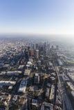 Los Angeles śródmieście Góruje Popołudniową antenę Fotografia Stock