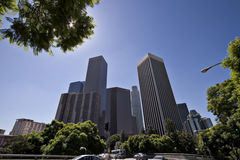 Los Angeles. Downtown Los Angeles Stock Images