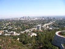 Los Angeles. A view of the city of Los Angeles, California Stock Images