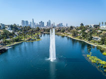 Los Angeles Image stock