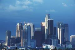 Los Angeles. Downtown Los Angeles skyline. California Stock Image