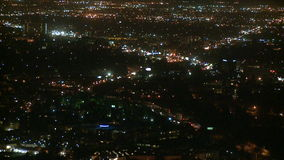 Los Angeles From Above - Time Lapse 1 of 4 stock footage