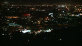 Los Angeles From Above - Time Lapse 4 of 4 stock footage