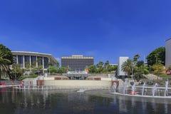 Los Angeles-Abteilung des Wassers und der Energie mit Brunnen Stockbild