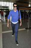 LOS ANGELES -Actor Johnny Knoxville is seen at LAX Royalty Free Stock Image