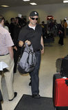 LOS ANGELES-Actor Matt Leblanc is seen at LAX Stock Photography