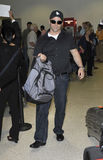 LOS ANGELES-Actor Matt Leblanc is seen at LAX Royalty Free Stock Image