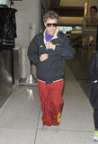 LOS ANGELES - Actor Will Farrell is seen at LAX Stock Images