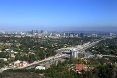 Los Angeles ad ovest fotografia stock