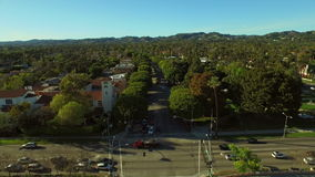Los Angeles Aerial Beverly Hills stock video footage