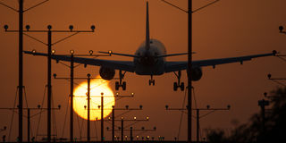 Los Angeles Airport Royalty Free Stock Image