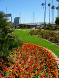Los Angeles Airport Garden Royalty Free Stock Image