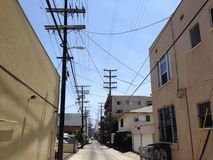 Los Angeles Alley Royalty Free Stock Image