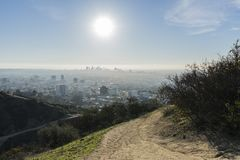 Free Los Angeles And Runyon Park Morning Stock Photos - 134717563
