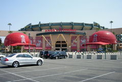 Los Angeles Angel Stadium of Anaheim Stock Photos