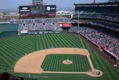 Los Angeles Angels Anaheim Stadium Stock Photography