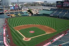 Los Angeles Angels Stadium of Anaheim Stock Images
