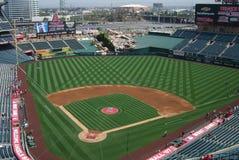Los Angeles Angels Stadium of Anaheim stock images